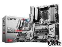 送M.2硬盘 微星Z270钛金版京东售3999元