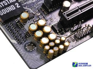 专业日系音频电容/音频放大器芯片-8声道音效芯片 华硕Z97 Deluxe主