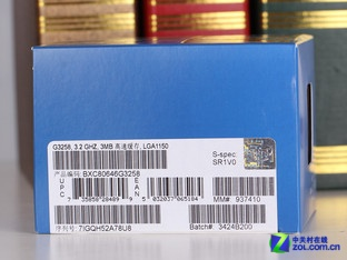 Intel 奔腾 G3258 包装图