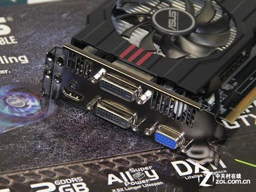 豪华双风扇散热 华硕GTX750Ti售1099元