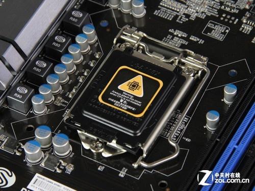 蓝宝石B75A-MA CPU插槽图