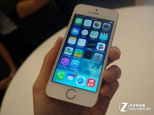 土豪金大降价 金色苹果iPhone 5s热卖