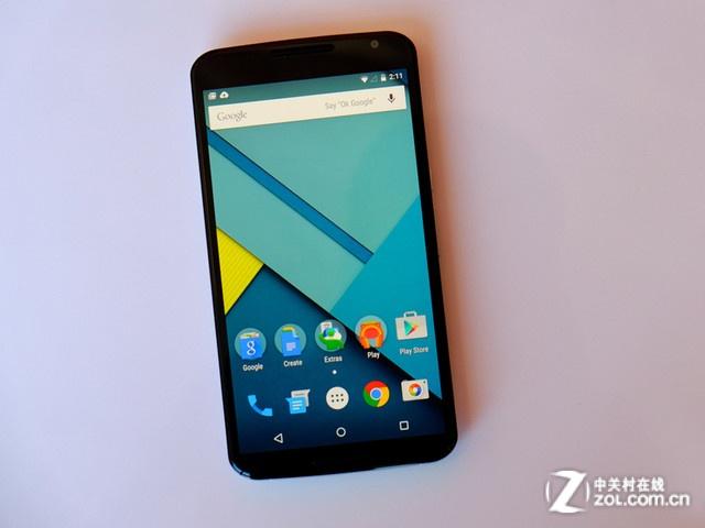 强劲性能+大屏 摩托罗拉Nexus6报3028元