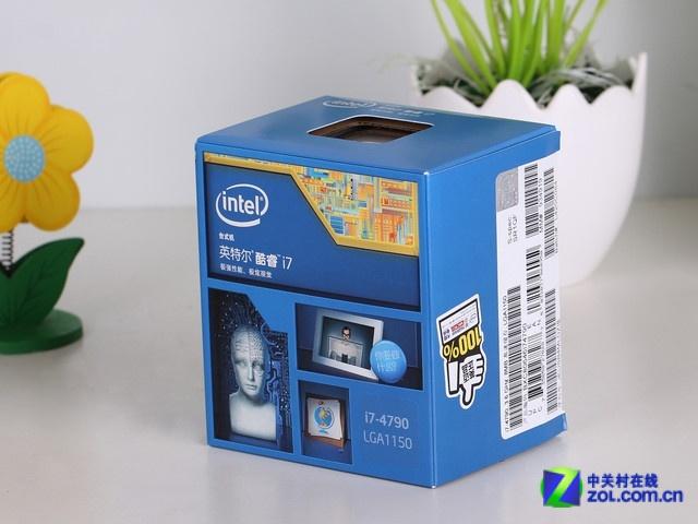 Intel 酷睿i7 4790 包装图