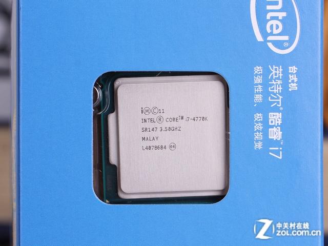 酷睿i7 4770K 包装图