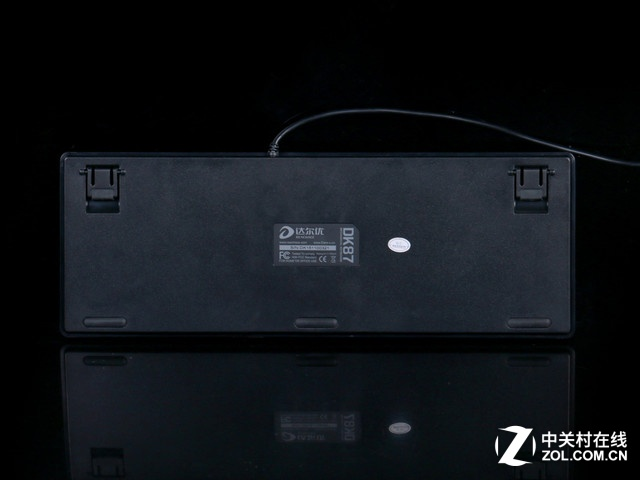 来自达尔优的福利 DK87机械键盘评测
