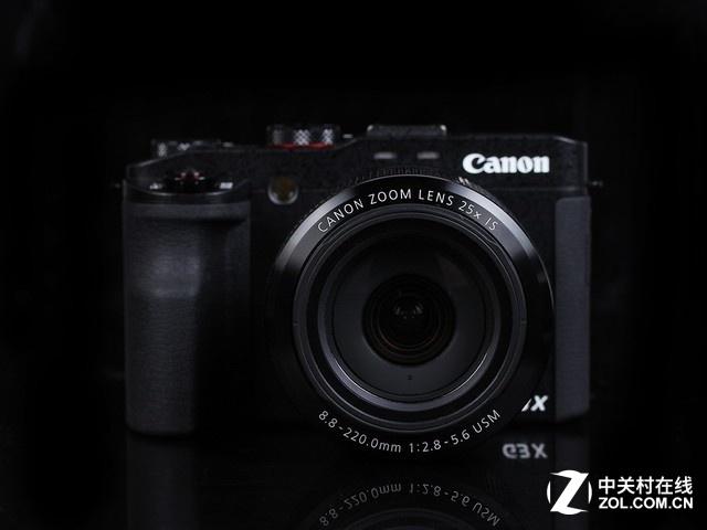 24-600mm焦距 佳能G3X京东售价5499元