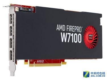 AMD FirePro W7100 8GB现货售价2999元