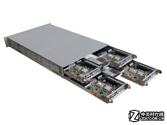 驰骋云端 杰和四节点高性能服务器